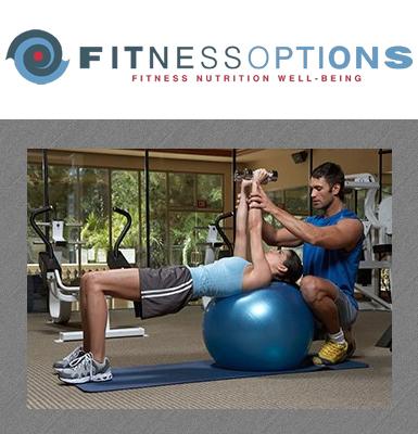 8-Class Punch Card or Three Personal Training Sessions at Fitness Options!