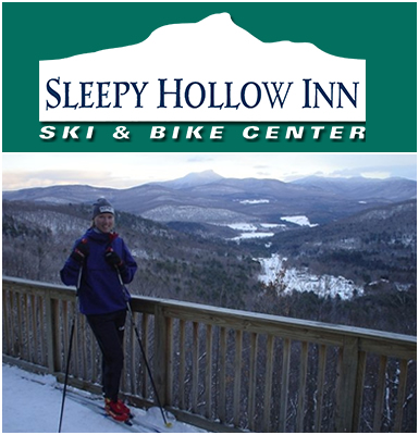 Pay $15 for 2 X-Country Ski Tickets, 3 Snowshoe Tickets, or 5 Mountain Bike Passes at the Sleepy Hollow Inn Ski & Bike Center!