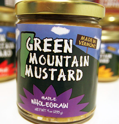 Pay $6 for 2 Jars of Green Mountain Mustard at Healthy Living