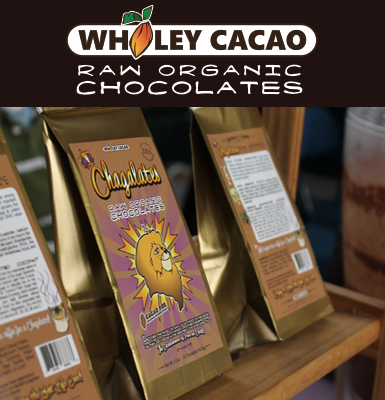 Save on Wholey Cacao Chagaletes at Healthy Living Market & Café